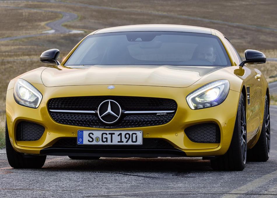 фото Mercedes-AMG GT 2015