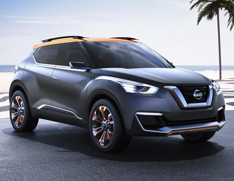 фото Nissan Kicks Concept 2014