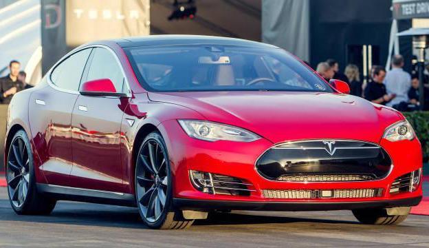 фото Tesla Model S P85D 2015
