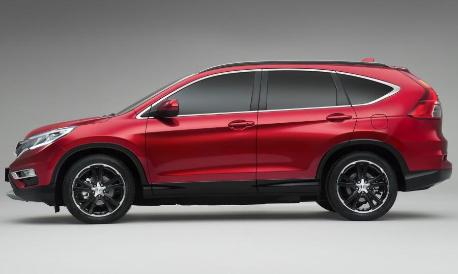 новвый Honda CR-V 2015 сбоку