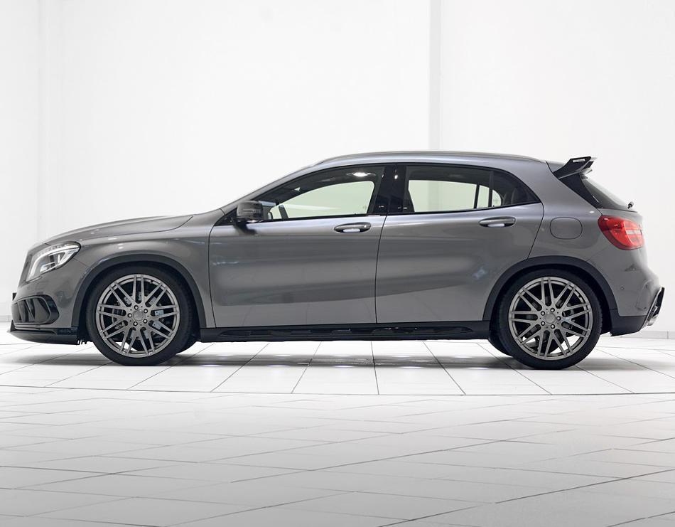 новый Mercedes GLA 2014 от Brabus сбоку