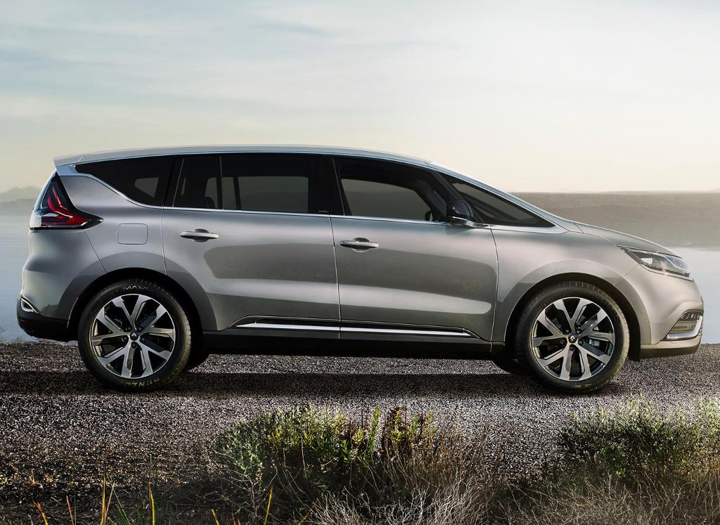 новый Renault Espace 2015 сбоку