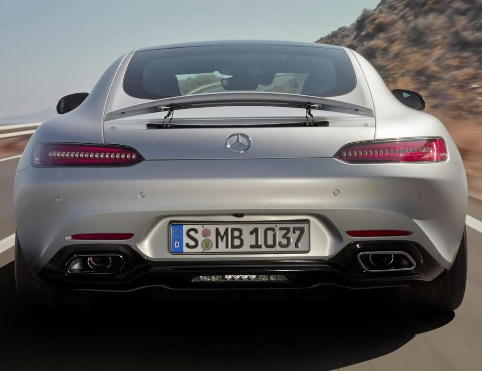 задние фонари Mercedes-AMG GT 2015