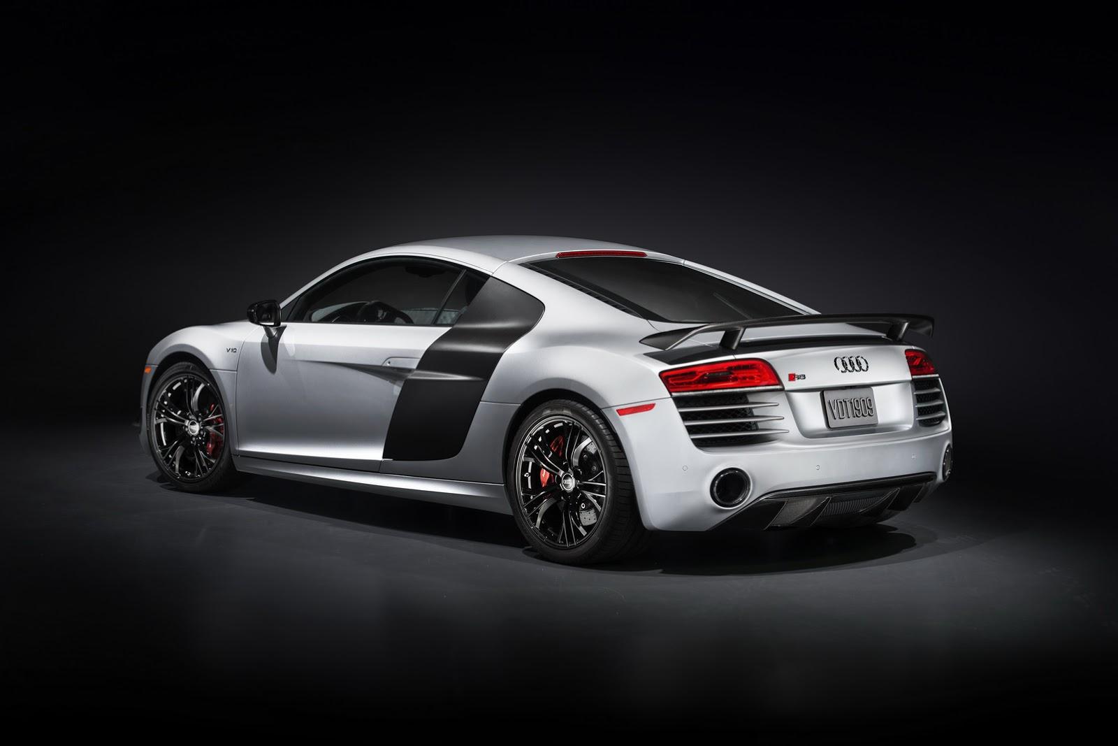 задняя часть Audi R8 Competition 2015