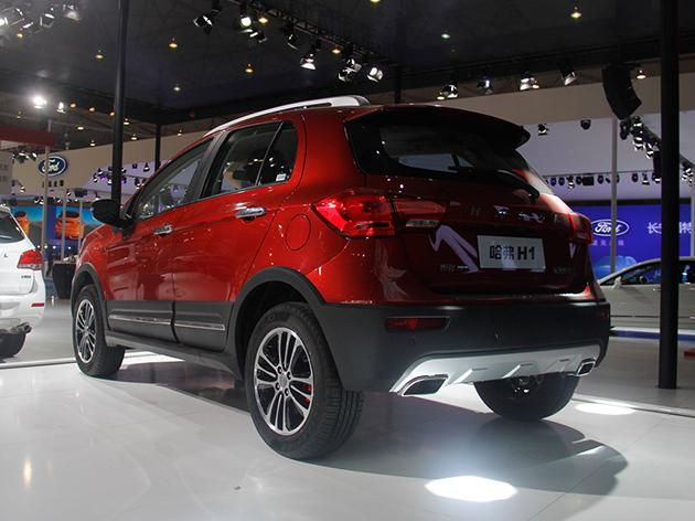 задняя часть Great Wall Haval H1 2015