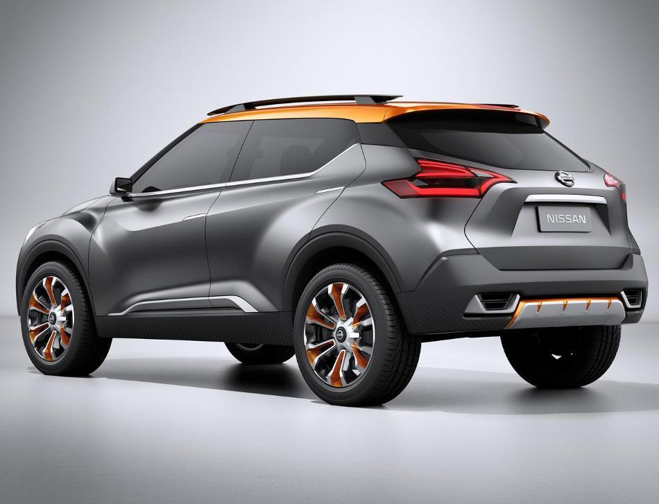 задняя часть концепта Nissan Kicks 2014