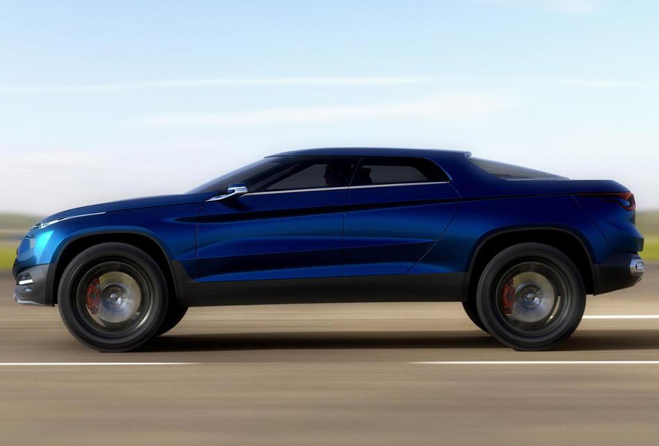 Купе Fiat Concept Car 4 (FCC4) сбоку