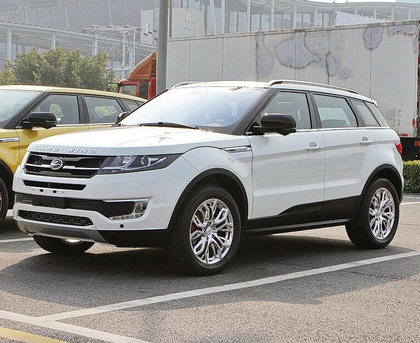 LandWind X7 - копия Range Rover Evoque