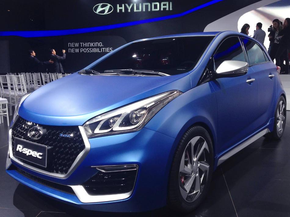 бампер и фары Hyundai HB20 R-Spec 2014