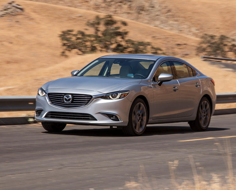 бампер и фары Mazda 6 2015 - 2016  рестайлинг