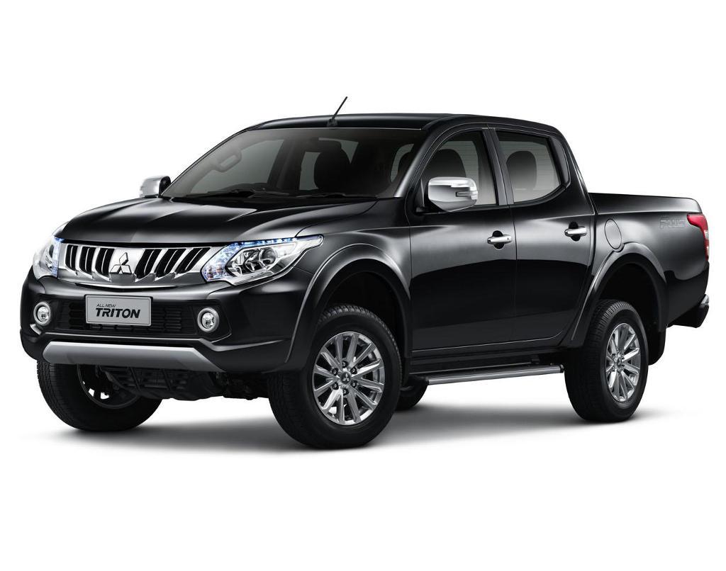 черный новый Mitsubishi L200 2015 - 2016