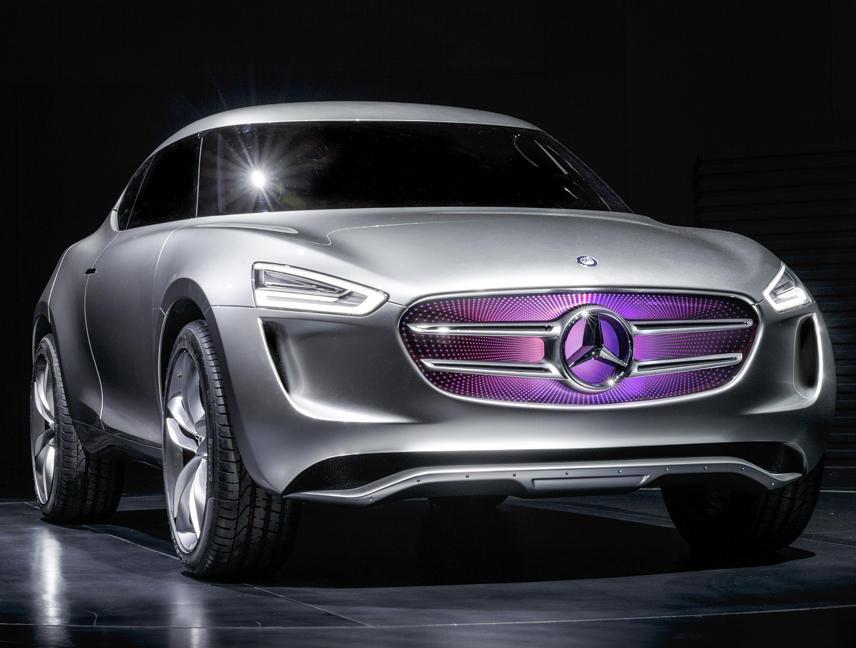 фары и бампер Mercedes G-Code Concept 2014