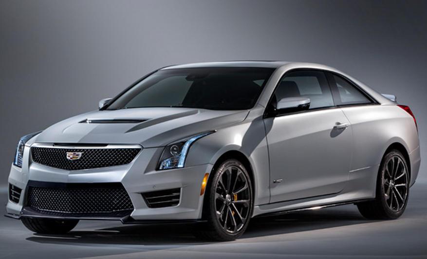 фары и бампер купе Cadillac ATS-V 2016