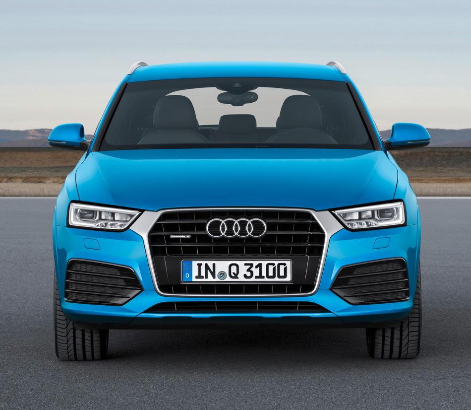 фото Audi Q3 2015 года