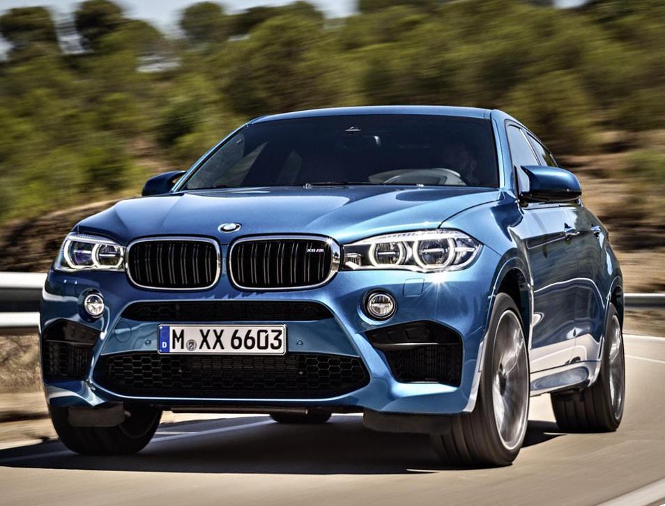 фото BMW X6 M 2015