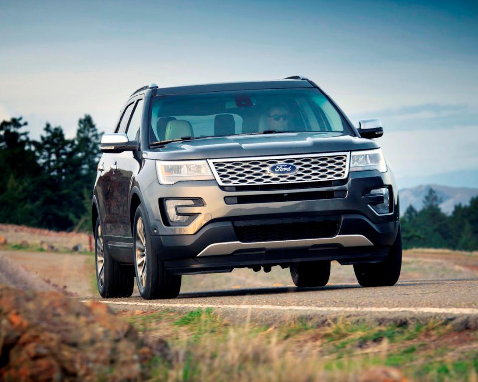 фото Ford Explorer Рестайлинг 2016