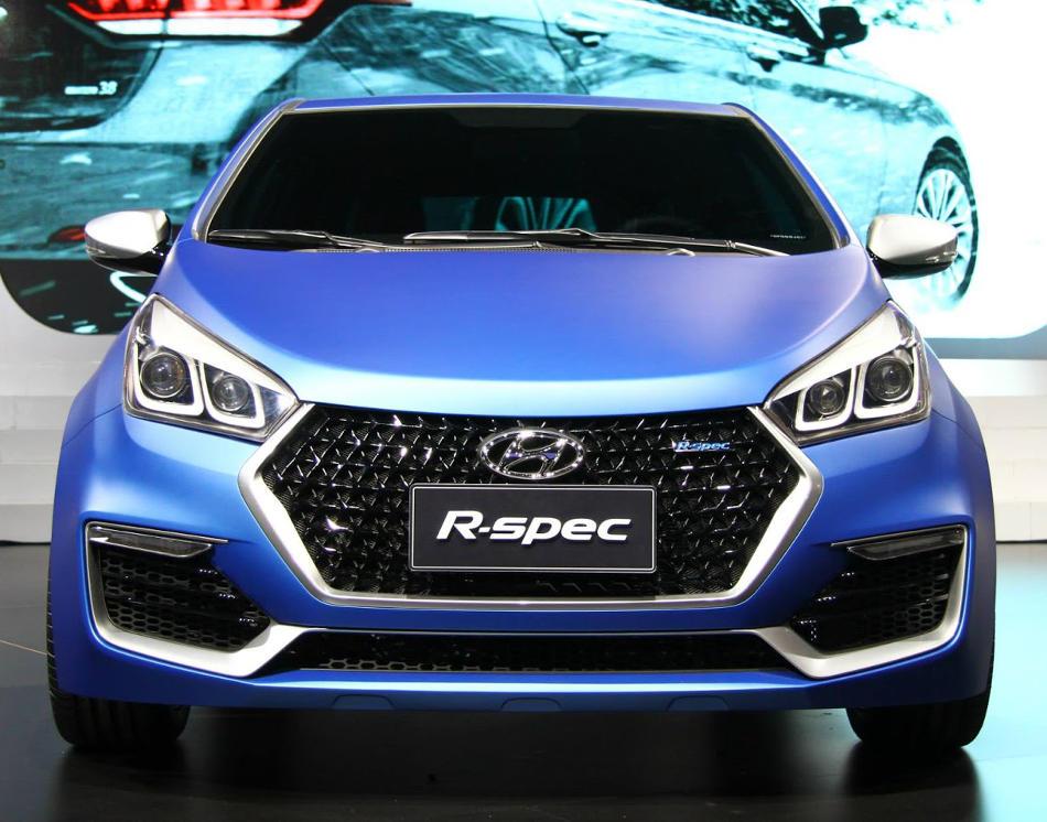 фото Hyundai HB20 R-Spec Концепт 2014