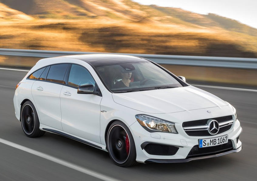 фото Mercedes CLA45 AMG Shooting Brake 2016