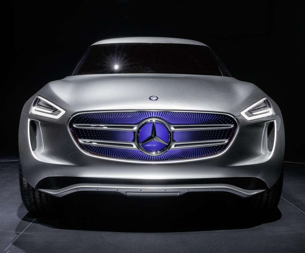 фото Mercedes G-Code Concept 2014