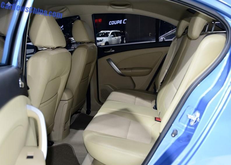 интерьер Cowin Auto C3 2015