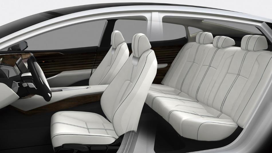 интерьер Honda FCV Concept