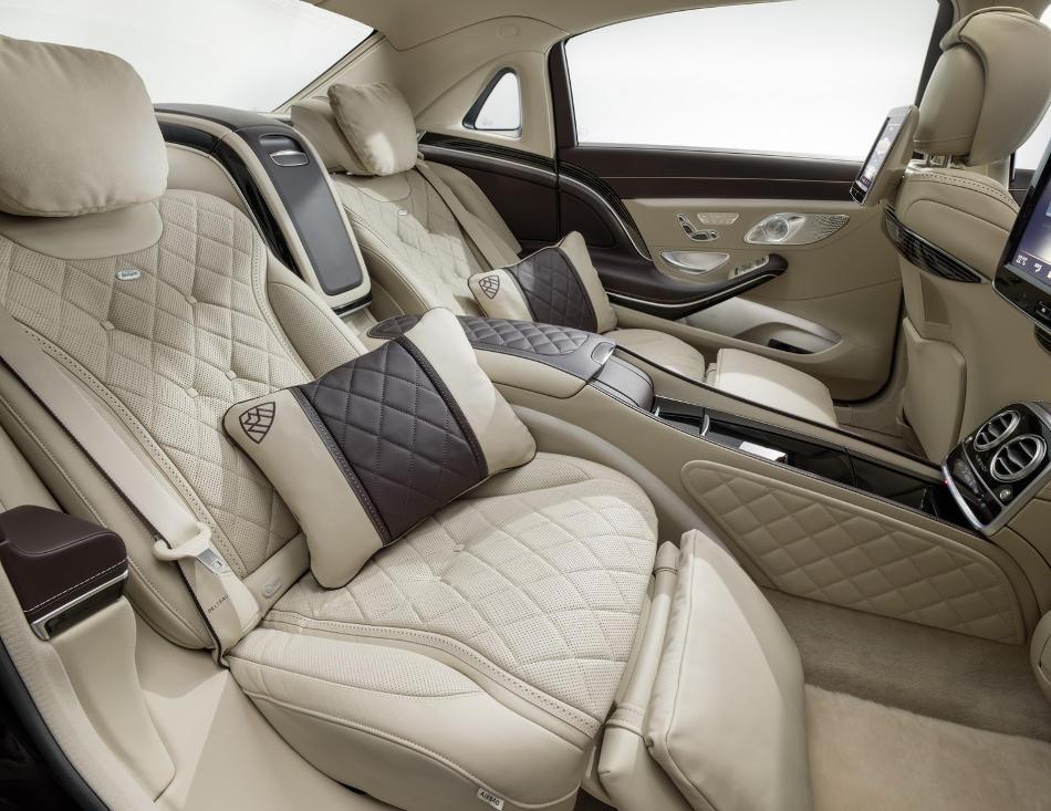 интерьер Mercedes-Maybach S-Class 2016