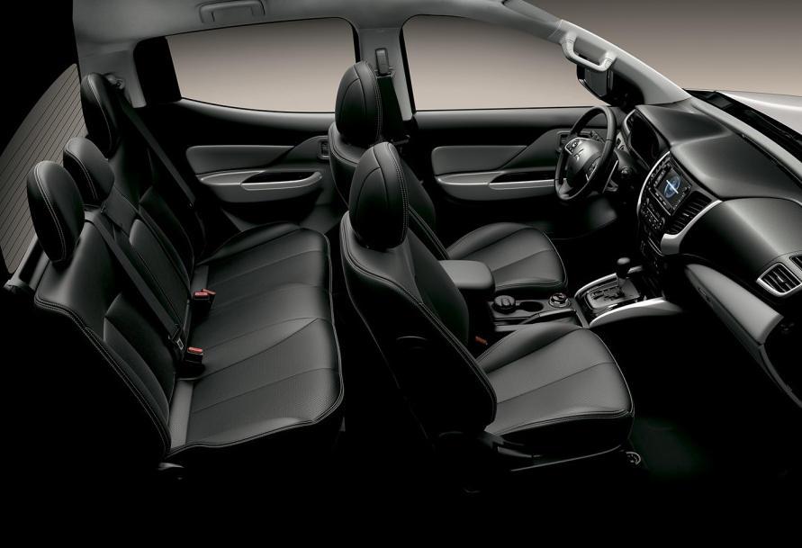 интерьер Mitsubishi L200 2015