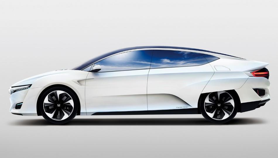 концепт Honda FCV сбоку