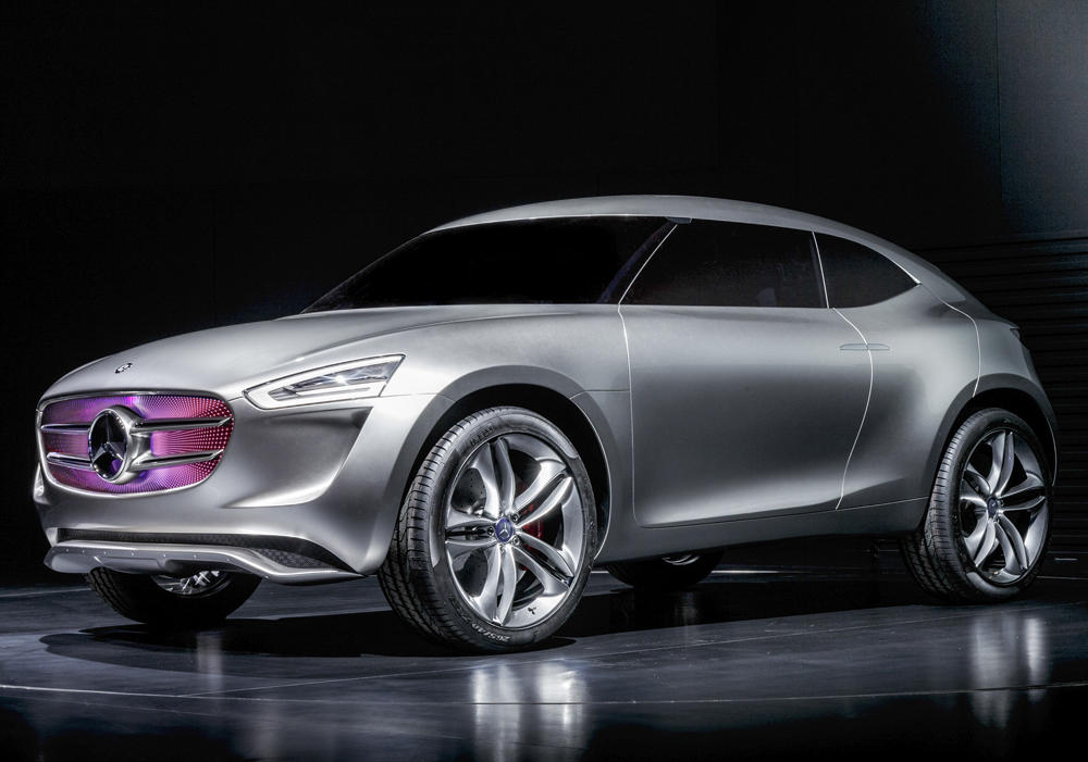 концепт Mercedes G-Code 2014 сбоку