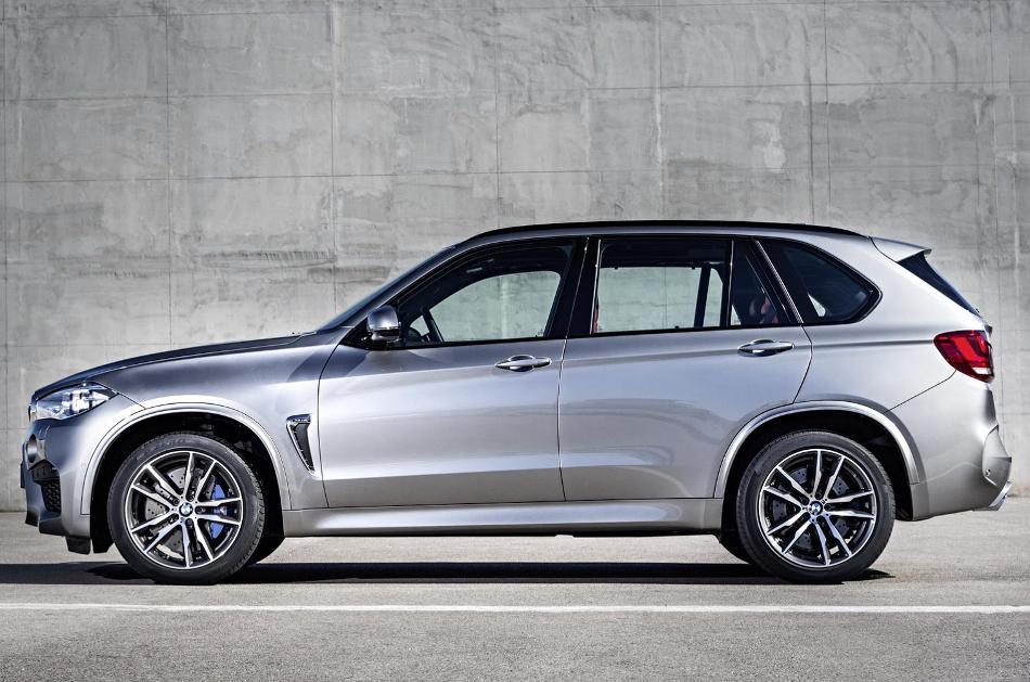 новый BMW X5 M 2015 сбоку