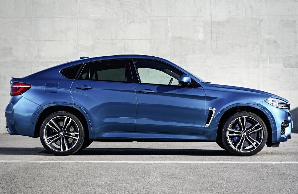 новый BMW X6 M 2015 сбоку
