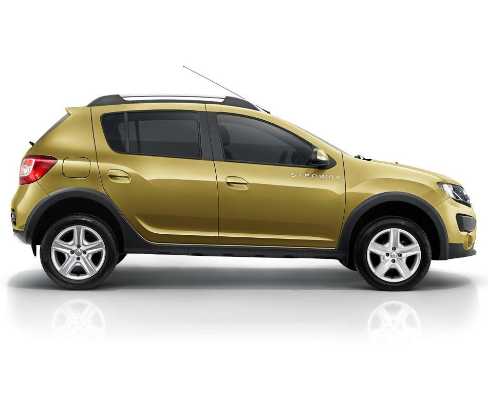 новый Renault Sandero Stepway 2015 сбоку