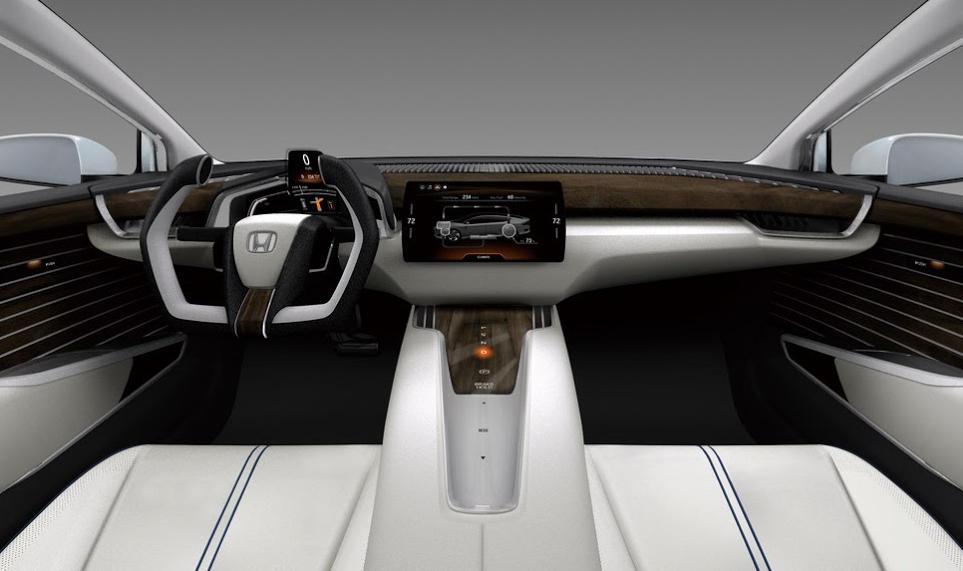салон Honda FCV Concept