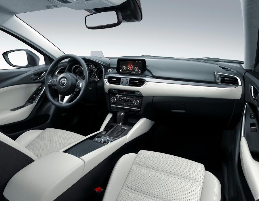 салон Mazda 6 2015 - 2016  рестайлинг