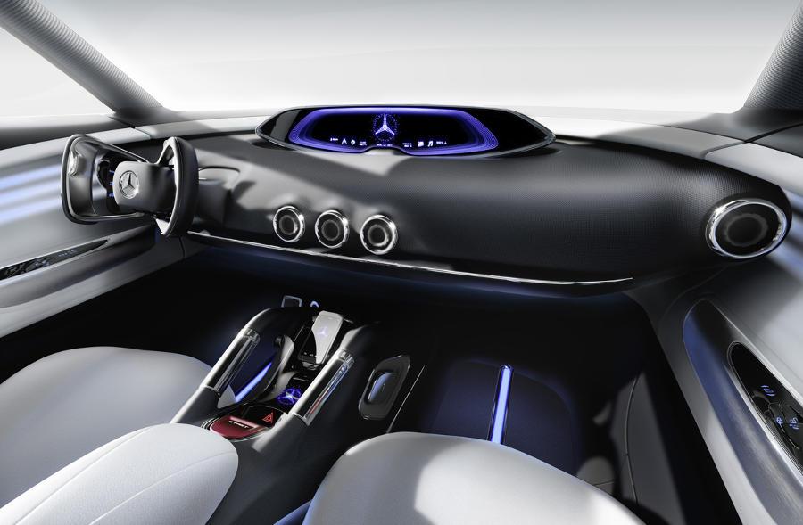 салон Mercedes G-Code Concept 2014