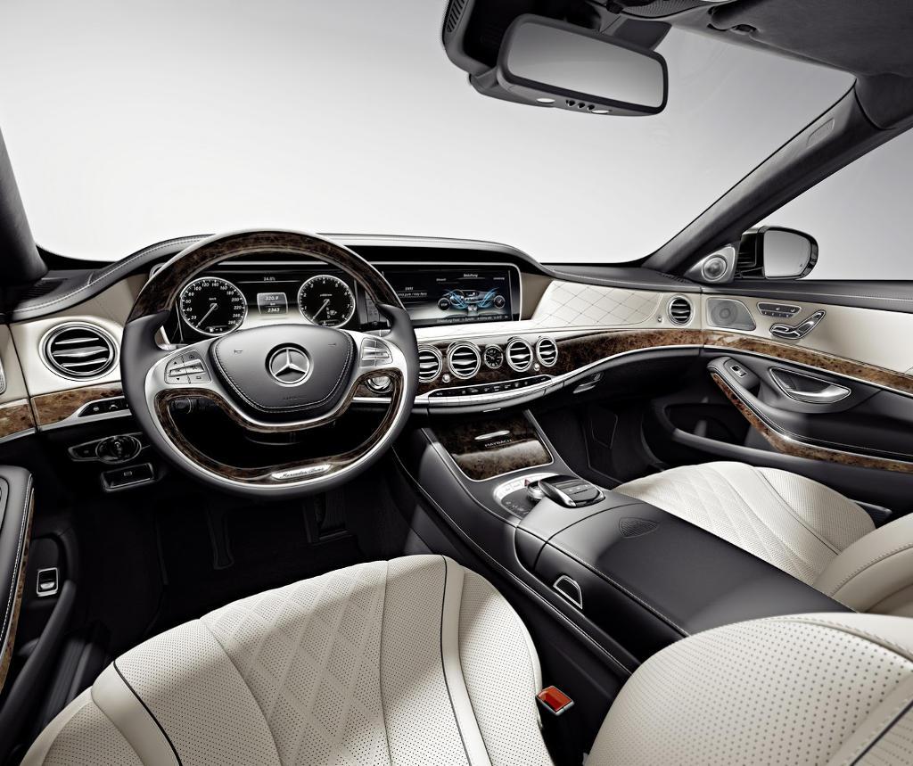 салон Mercedes-Maybach S-Class 2016