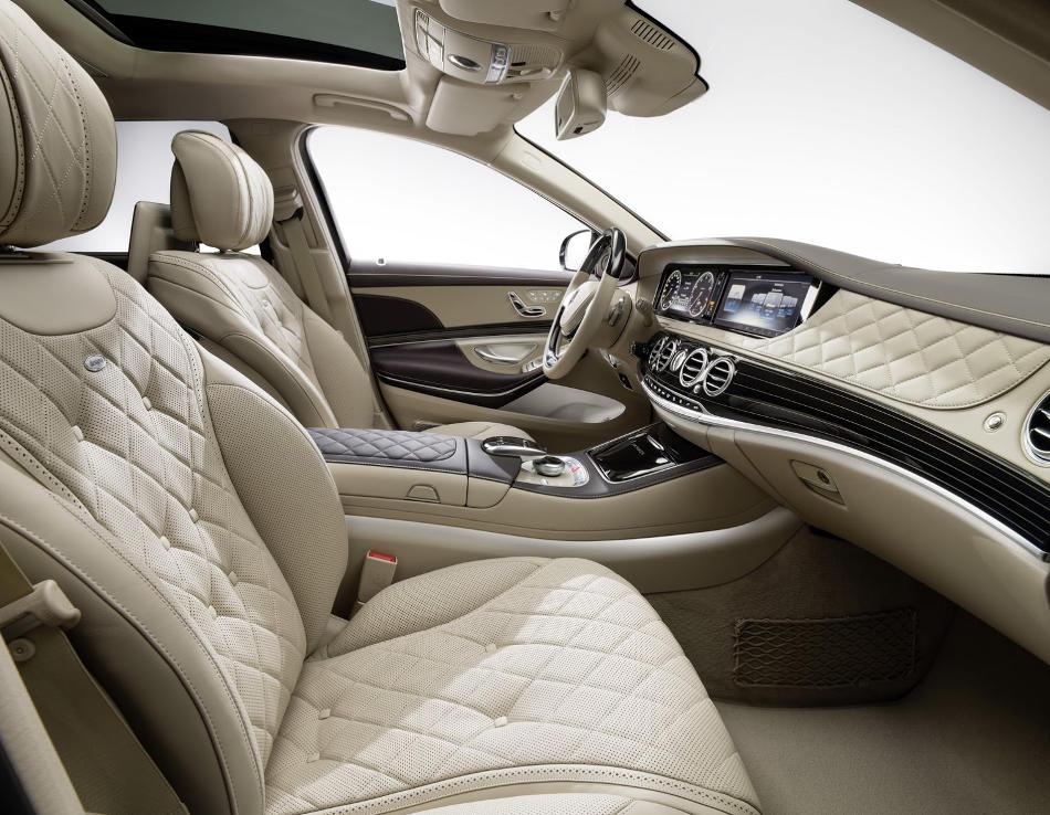 сиденья в Mercedes-Maybach S-Class 2016