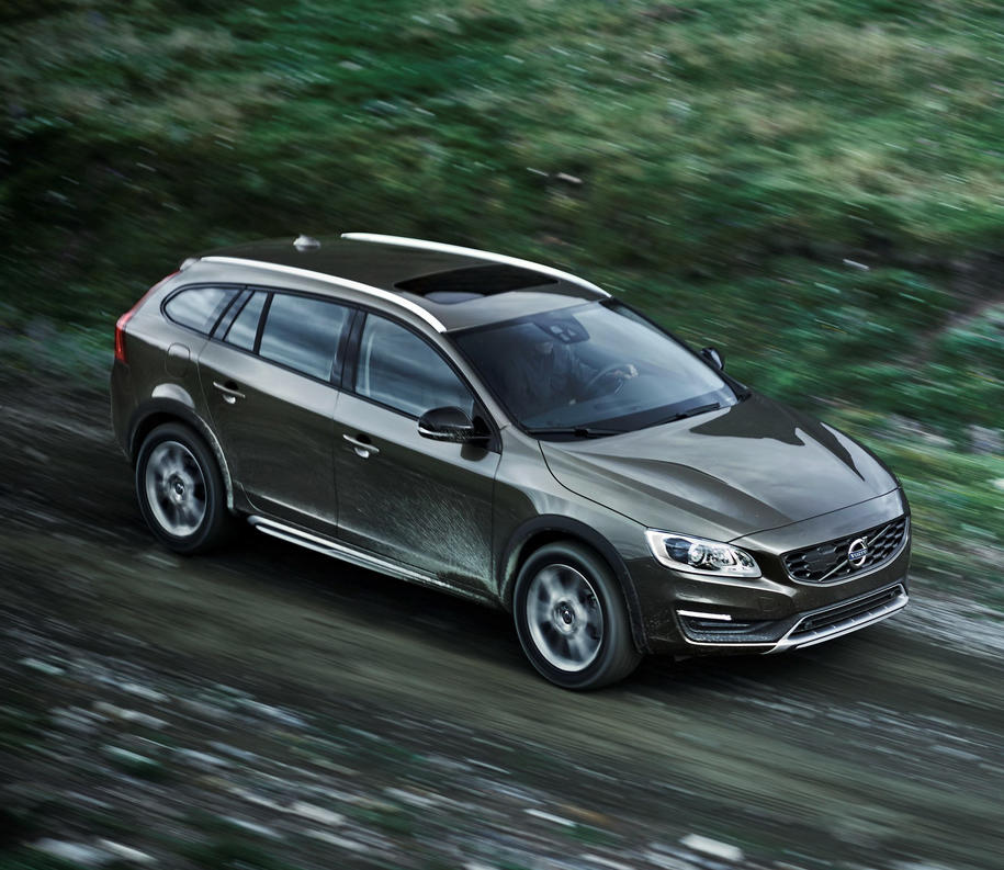 фары и бампер Volvo V60 Cross Country 2015 года