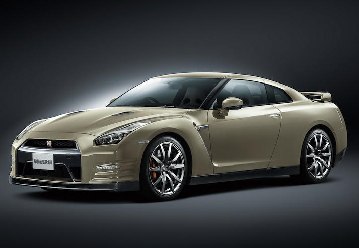 юбилейный Nissan GT-R 45th Anniversary Edition 2015
