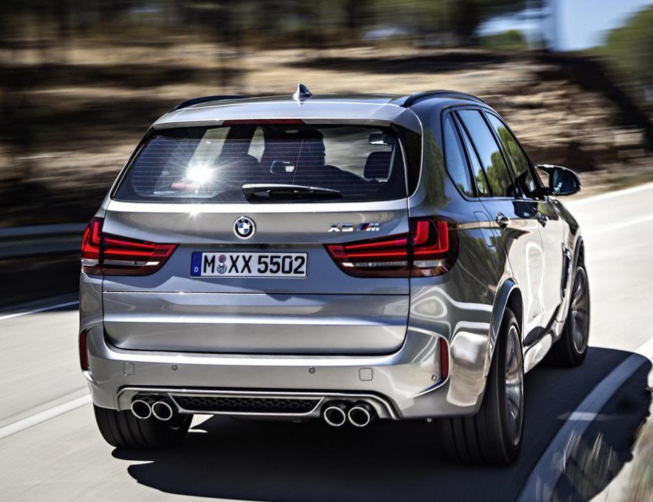 задние фонари BMW X5 M 2015