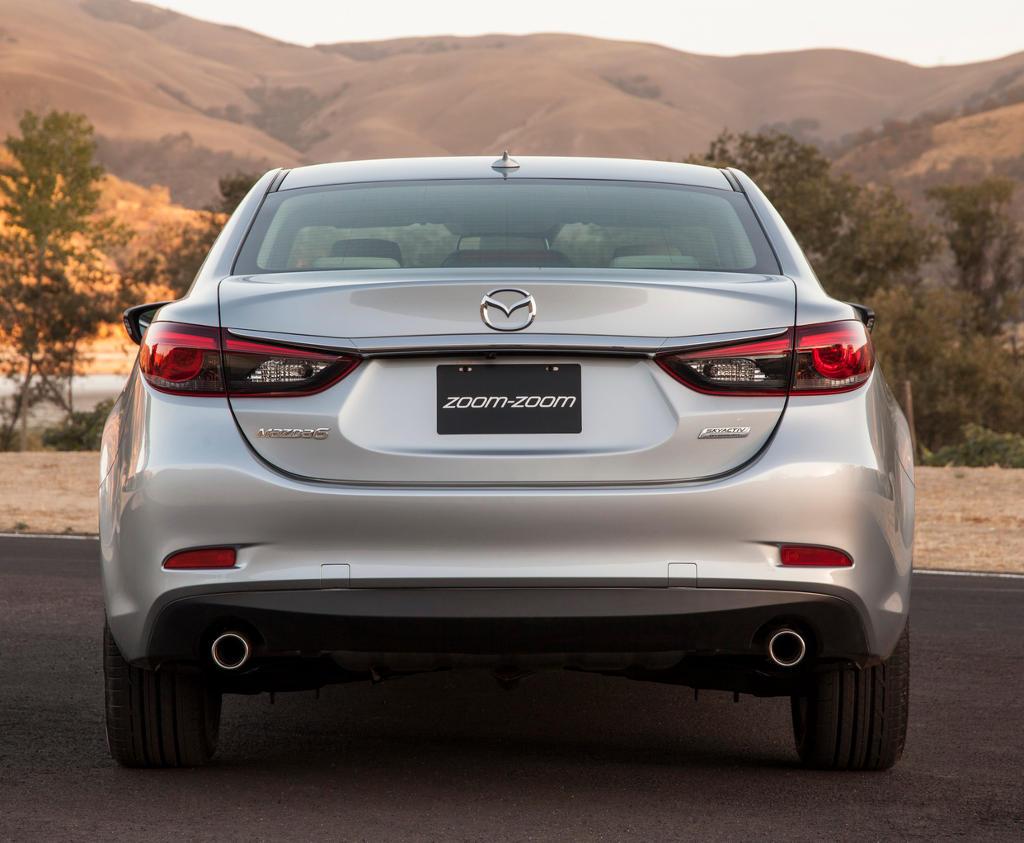 задние фонари Mazda 6 2016 рестайлинг
