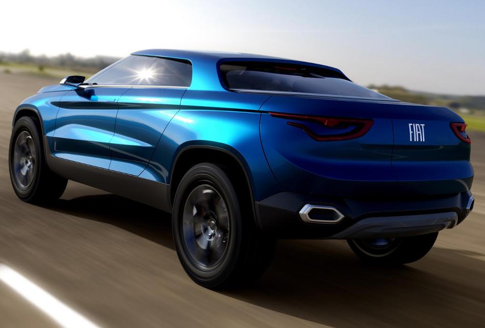 задняя часть Fiat Concept Car 4