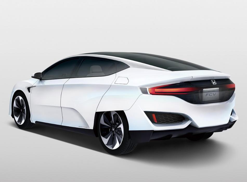 задняя часть Honda FCV Concept