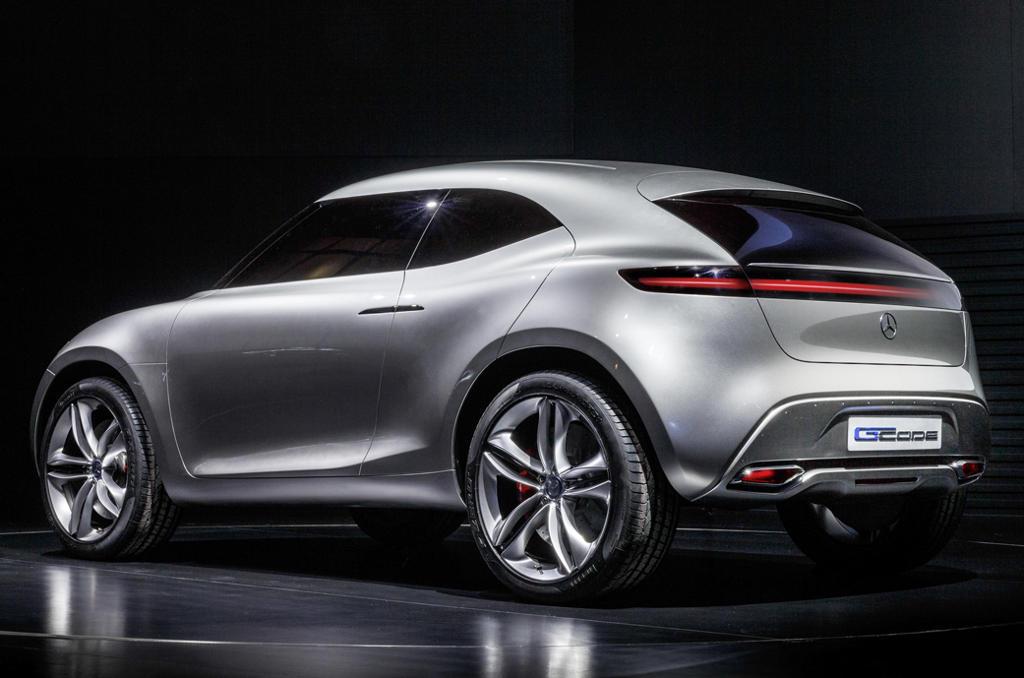 задняя часть Mercedes G-Code Concept 2014