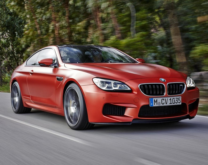 бампер и фары BMW M6 Coupe 2015
