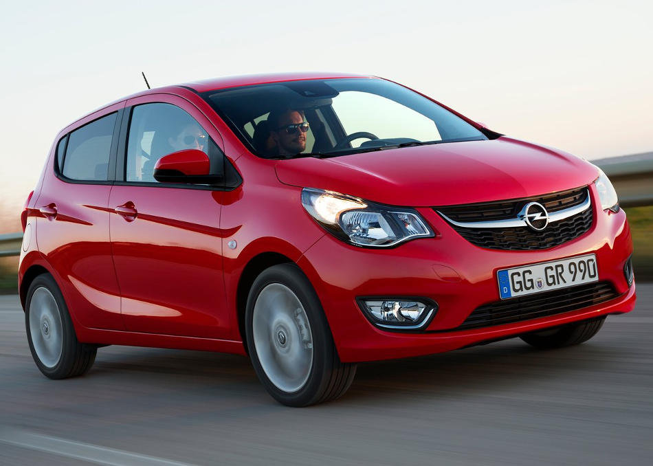 бампер и фары Opel Karl