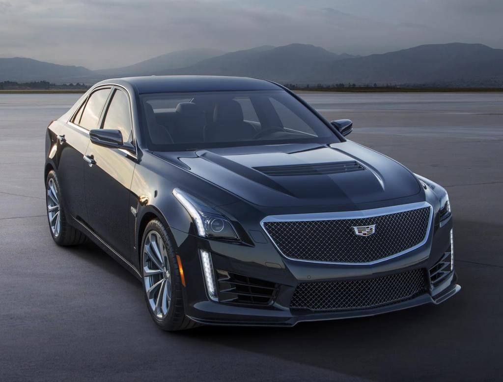 фары и бампер Cadillac CTS-V 2016