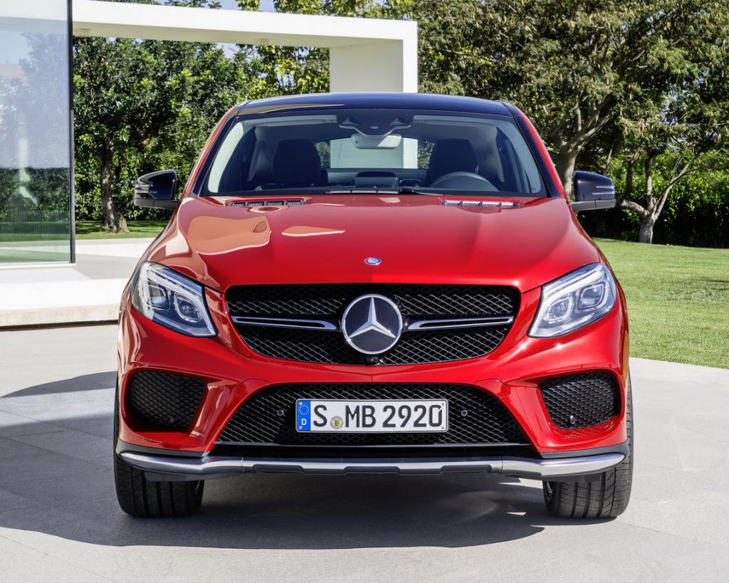 фото Mercedes-Benz GLE 450 AMG Coupe 2016 года