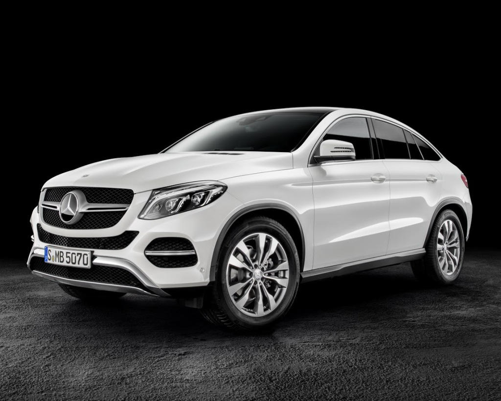 фото Mercedes GLE Coupe 2016