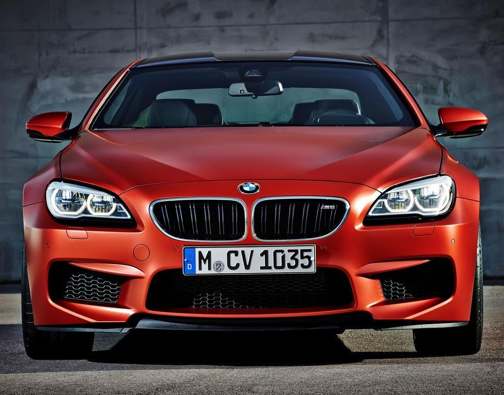 фото купе BMW M6 2015